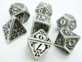 Metal Steampunk Dice Set